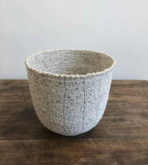 Pearl Bowl round, Large.  FREE DELIVERY !  GRATIS LEVERING !