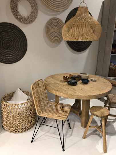 Chair rotan.  Order 5 and get 6 pieces.