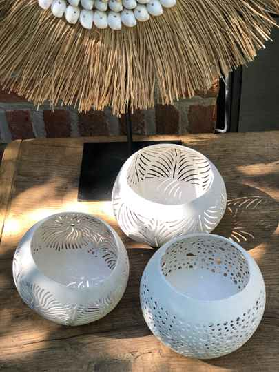 Coconut : white: 3 pieces.  FREE DELIVERY !  GRATIS LEVERING !