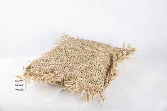 Cushion cover Rafia 40X40 Natural