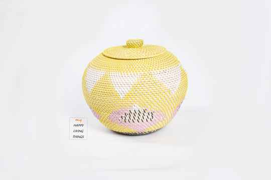 Basket rattan MAXI Mix color. FREE. DELIVERY !