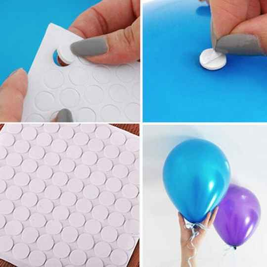 100 Ballon stickers - Muur sticker Ballon plakkers