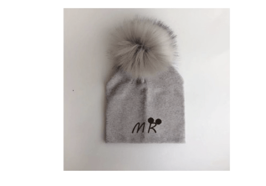 PomPom Muts MR Taupe Baby & Peuter