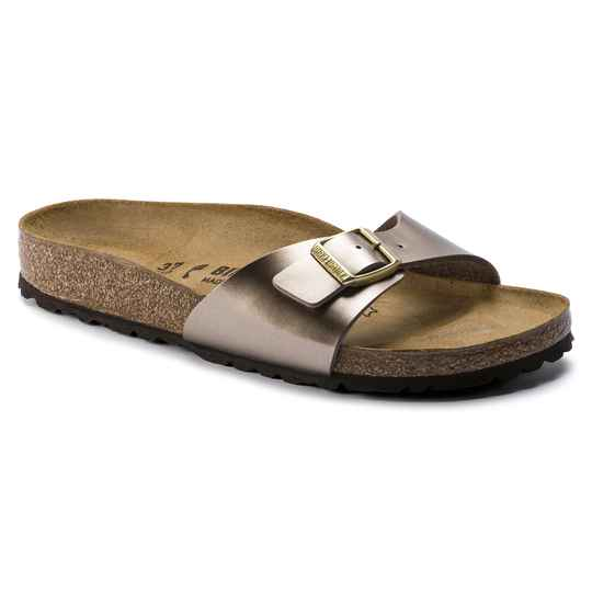 Birkenstock - Madrid BS - Electric Metallic taupe