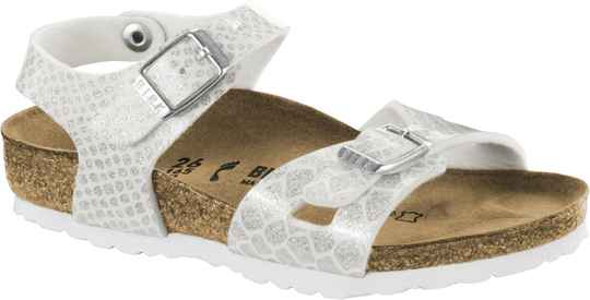 Birkenstock - Rio kids - Magic snake white
