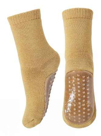 Mp Denmark - Wool slippers - Mustard (7951-4062)