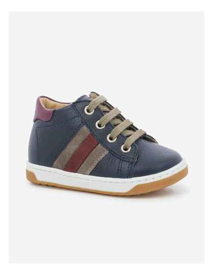 SHOOPOM - Oops duck navy/taupe/bordeaux