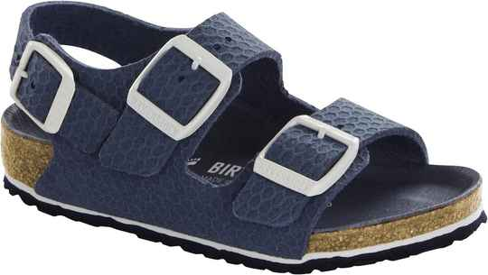 Birkenstock - Milano kids - Hexagon Tech blue