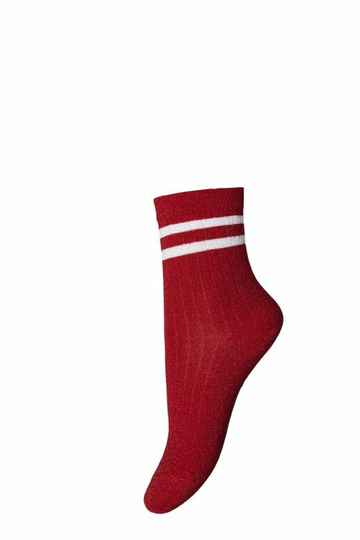 Mp Denmark - Ankle Clemantis Red (77139-720)