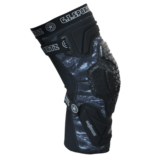 GI Sportz Protective Race : Knee Black