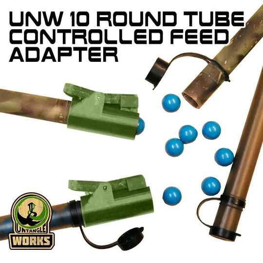 UNW 10 Round Tube Controlled Feed Adapter .68