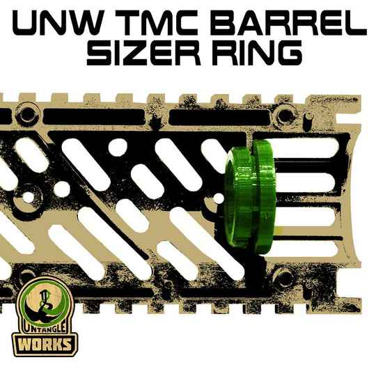 UNW TMC Barrel sizer ring