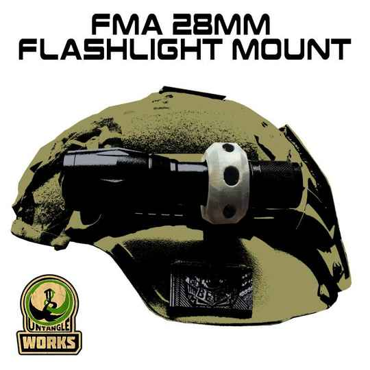 UNW FMA 28mm Flashlight Mount
