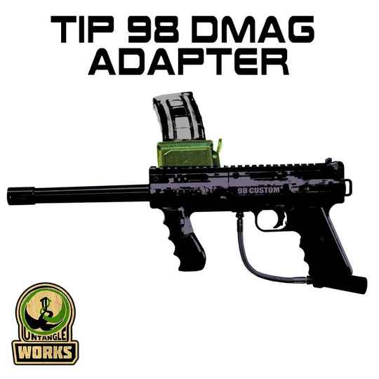 UNW Tippmann 98 Custom Magfed Adapter