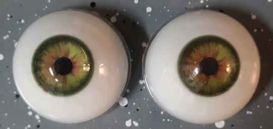 Dollicious Acrillic Mannequin Eyes -  Jungle Green