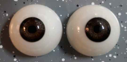 Dollicious Acrillic Mannequin Eyes - Coffee Toffee