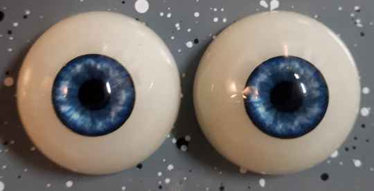 Dollicious Acrillic Mannequin Eyes - Frosty Flakes