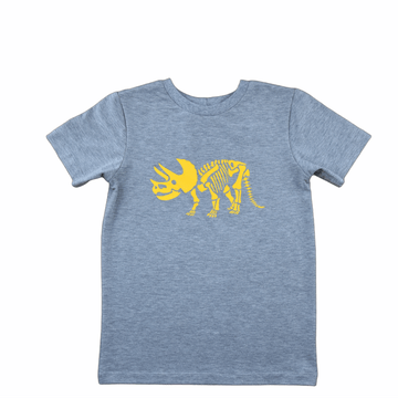T-shirt Dino Triceratops skelet