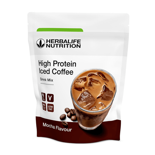 Herbalife High Protein Iced Coffee Mokka 322 g
