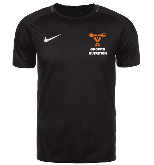 NIKE DRY ACADEMY GROWTH NUTRITION ZWART