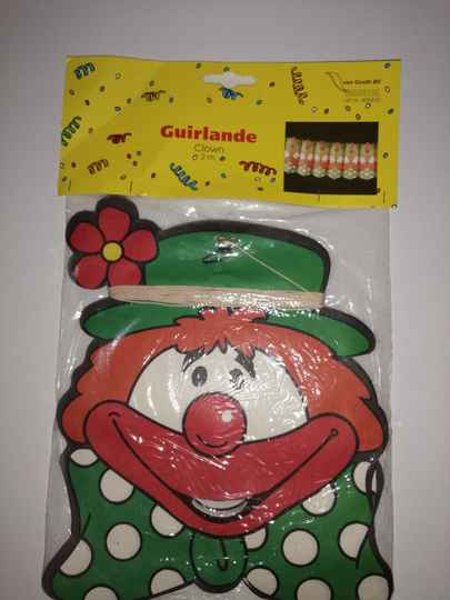 Clown Guirlande 2m