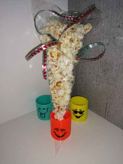 Smiley SpringVeer popcorn