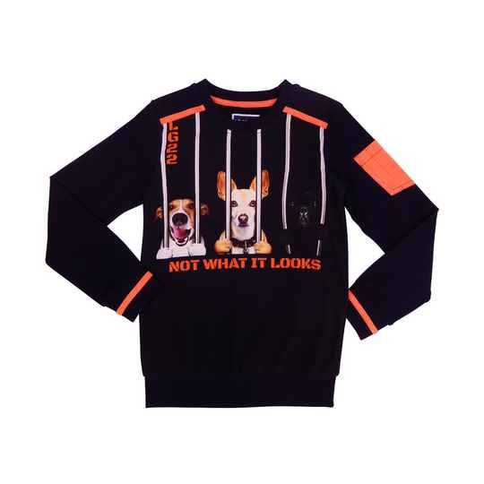 Legends22 Jongens Sweater not what it looks
