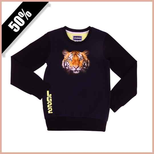 Legends22 Jongens Sweater Tiger