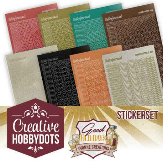 Creative Hobbydots 8 - Sticker Set