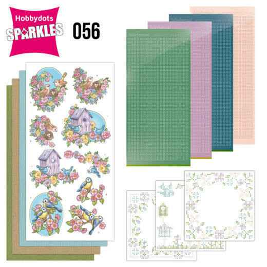 Sparkles Set 56 - Yvonne Creations - Flowers and Birds
