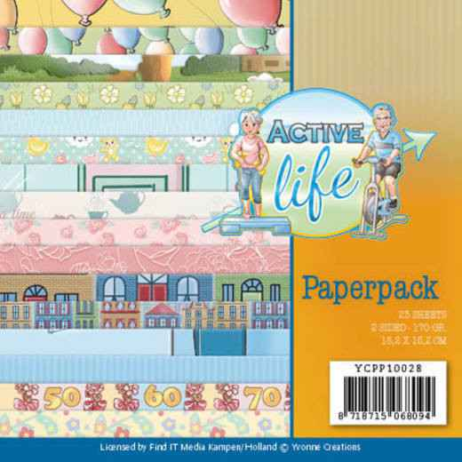 Paperpack - Yvonne Creations - Active Life