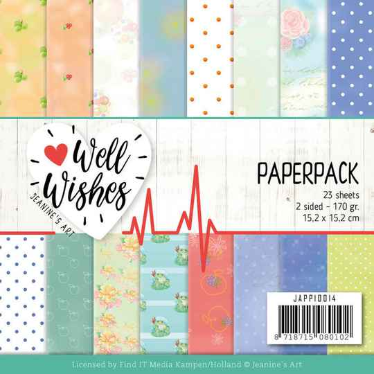 Paperpack - Jeanine's Art - Well Wishes