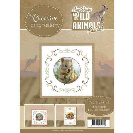 Creative Embroidery 13 - Amy Design - Wild Animals Outback