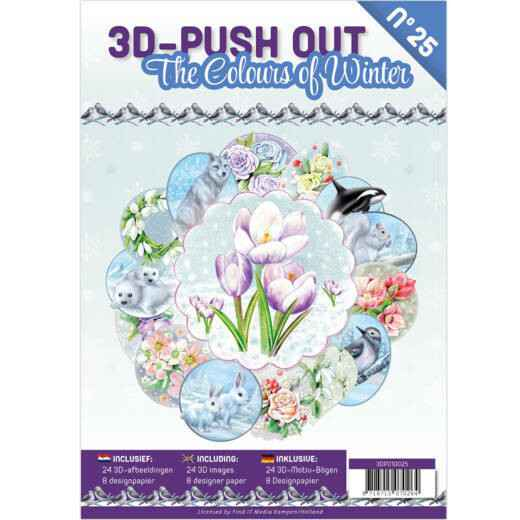 3D Push Out boek 25 - The Colours of Winter