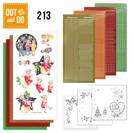 Dot and Do 213 - Yvonne Creations - The Heart of Christmas - Fireworks