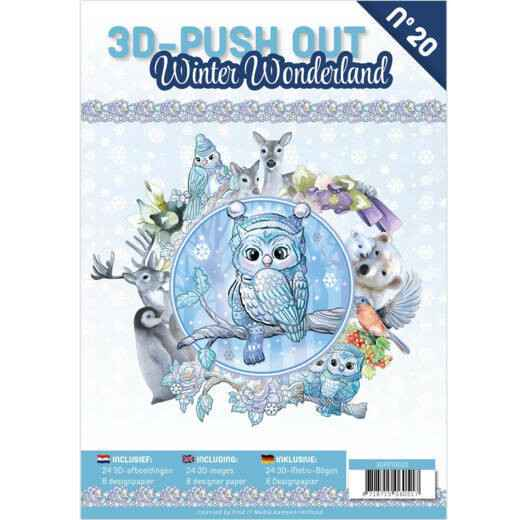 3D Pushout Book 20 Winter Wonderland