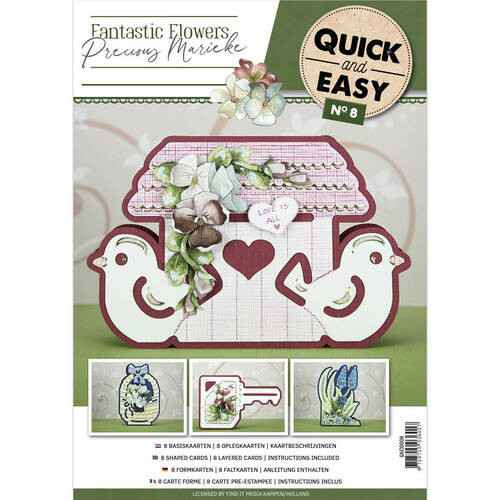 Quick and Easy 8 - Fantastic Flowers  Quick and Easy