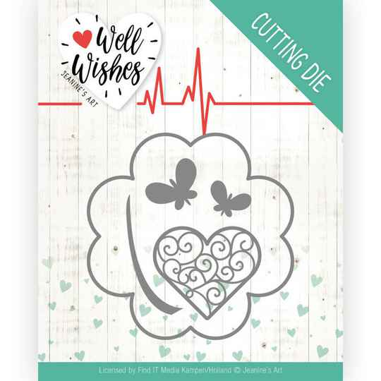 Dies - Jeanine's Art - Well Wishes - Lucky Clover