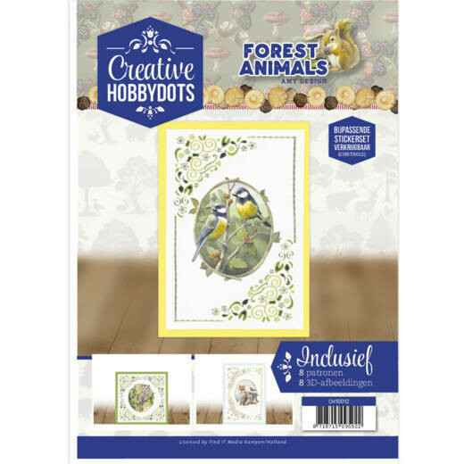 Creative Hobbydots 12 - Amy Design - Forest Animals