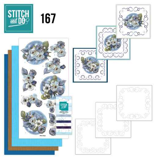 Stitch and Do 167 - Amy Design - Awesome Winter - Winter Flowers