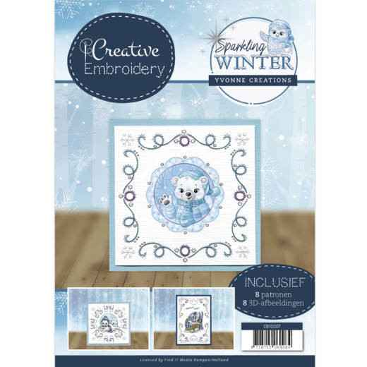 Creative Embroidery 7 - Yvonne Creations - Sparkling Winter