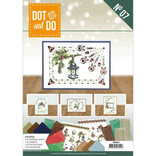 Dot and Do Boek 7 - Precious Marieke - Nature of Christmas (incl. Sticker Set)