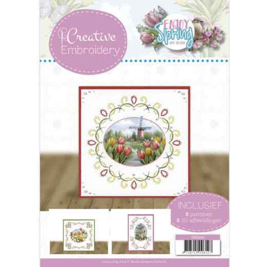 Creative Embroidery 24 - Amy Design - Enjoy Spring