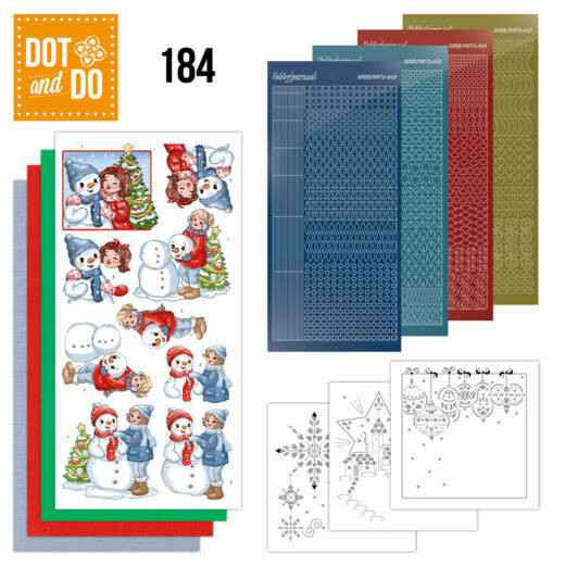 Dot and Do 184 - Yvonne Creations - Bubbly Girls - Christmas