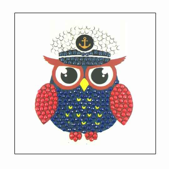 """CAPTAIN OWL - """"EVERYDAY"""" CRYSTAL ART MOTIFS (WITH TOOLS)"""