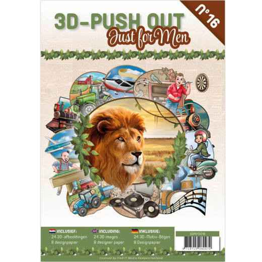 3D Pushout Book 16