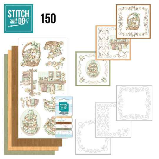 Stitch and Do 150 - Yvonne Creations - Newborn