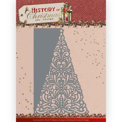 Dies - Amy Design - History of Christmas - Lacy Christmas Tree