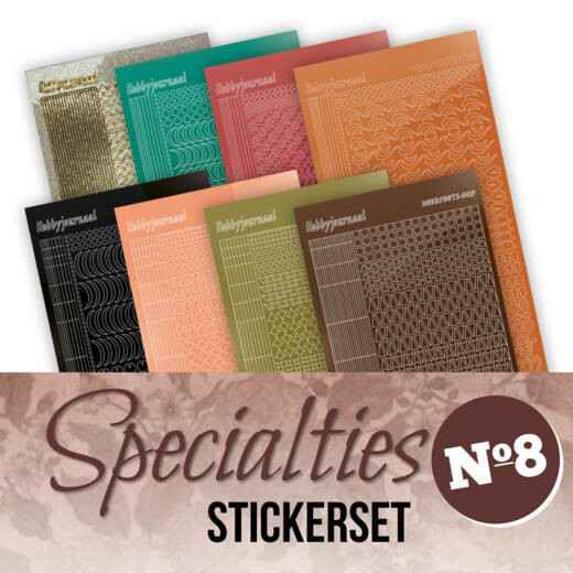 Specialities nr 8 stickerset