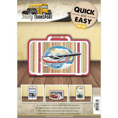 Quick and Easy 13- Amy Design - Daily Transport  Amy Design  QAE10013